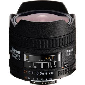 Nikon 16mm f2.8 D AF Fisheye