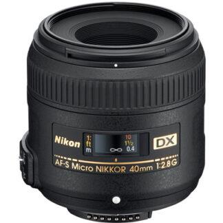 Nikon 40mm f2.8 G AF-S DX Micro