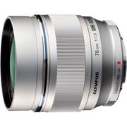 Olympus 75mm f1.8 - Silver