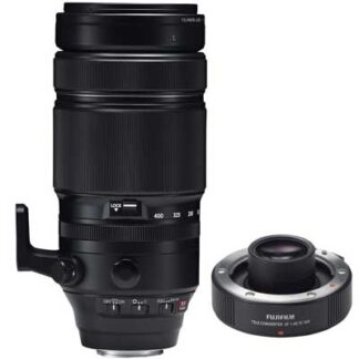 Fuji 100-400mm f4.5-5.6 R LM OIS WR Inc 1.4X Teleconverter