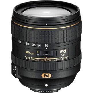 Nikon 16-80mm f2.8-4G AF-S VR ED DX