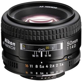Nikon 50mm f1.4 D AF