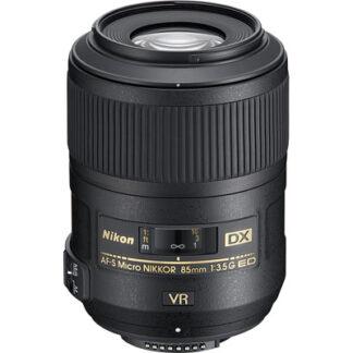 Nikon 85mm f3.5 G ED AF-S VR DX Micro