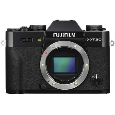 fuji x t20 inc 18 55mm silver or black york camera mart. Black Bedroom Furniture Sets. Home Design Ideas