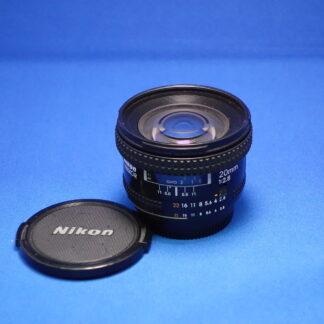 Used NIKON 20mm F2.8 AF-D