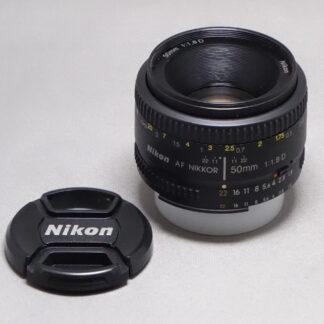 Used Nikon 50mm F1.8 AF-D
