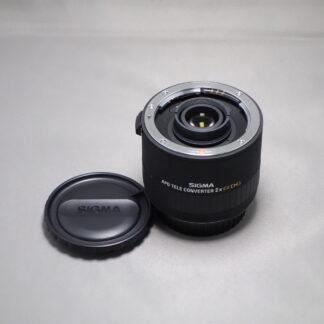 Used SIGMA EX 2x Converter - Canon Fit
