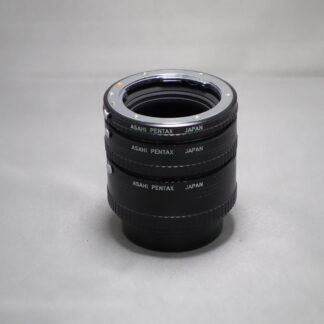 Used PENTAX EXTENSION TUBES (Set of 3)