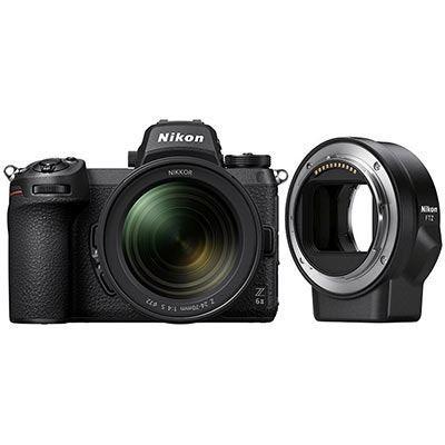Nikon Z6 II Inc 24-70mm f4 Lens & FTZ Adapter