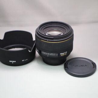 Used SIGMA 30mm F1.4 DC HSM - Nikon Fit