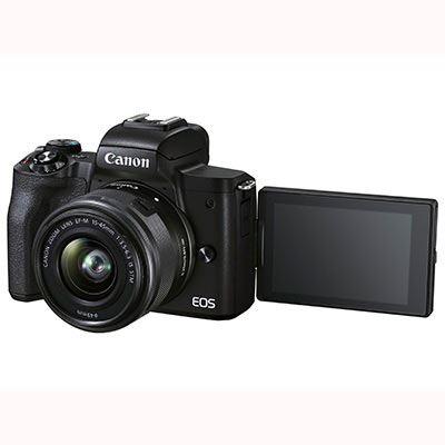 Canon EOS M50 Mark II Inc EF-M 15-45mm Lens