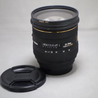 Used SIGMA 24-70 F2.8 DG-Canon Fit