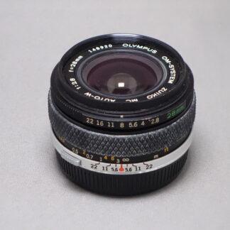 Used Olympus 28mm F2.8 - Manual Focus