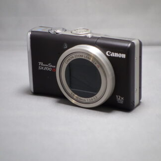 Used Canon SX-200 IS- Compact Camera