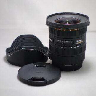 Used SIGMA 10-20mm F3.5 DC