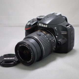 Used Nikon D3200 Inc 18-55mm VR