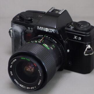 Used Minolta X9 Inc 28-70mm