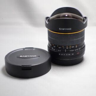 Used SAMYANG 8mm F3.5 Fisheye