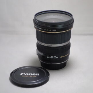 Used CANON EF-S10-22mm USM