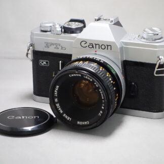 Used Canon FTb QL Inc 50mm F1.8