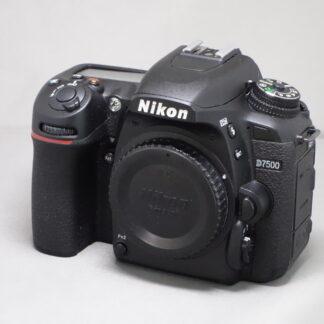 Used Nikon D7500 Body
