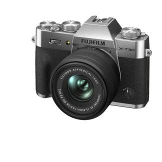 Fuji X-T30 II Inc 15-45mm XC - Silver