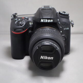 Used Nikon D7200 Inc 18-55mm VR