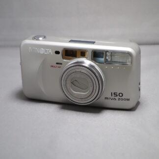 Used Minolta Riva Zoom 150 Film Camera